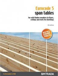 Span tables pack: 2 books featuring Eurocode 5 & BS 5268 calculations