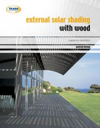 External solar shading with wood: a guide for specifiers