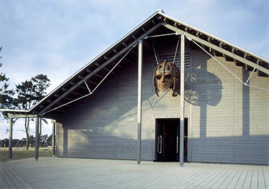 Sutton Hoo Visitor Centre, Woodbridge, Suffolk