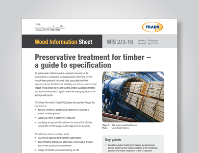 Updates to Timber Preservatives WIS